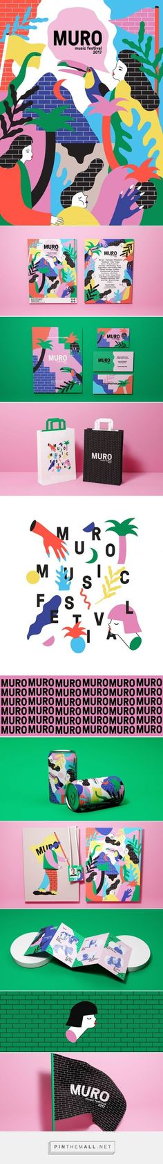 (17) Muro Music Festival Branding by Giovani Flores | Fivestar Branding Agency – Design and Branding Agency & Curated Inspiration Gallery | https://lome… | Pinterest