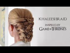 Game Of Thrones Inspired Hair Tutorial | The Khaleesi Braid