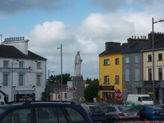 Where the Walshes come from....and the Whelans too!  Gort Town, Ireland
