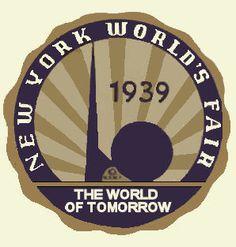 sticker, new york 1939