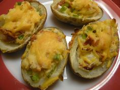 Loaded Potatoes- these twice baked potatoes can be made ahead and frozen for later use. Loaded Mashed Potatoes, Loaded Potato, Twice Baked Potatoes, Stuffed Potatoes, Diced Potatoes, Frozen Potatoes, Baked Potato Recipes, Family Fresh Meals, Side Dish Recipes