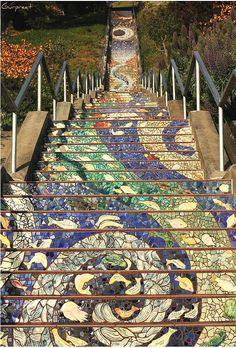 Degraus de São Francisco, Estados Unidos. www.conexaodecor.com
