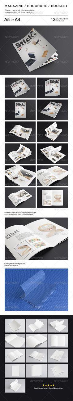 Magazine Mock-up - Magazines Print