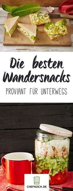On tour: snacks on the go- On tour: Snacks für unterwegs Hiking snacks on the go - Gourmet Sandwiches, Healthy Sandwiches, Sandwiches For Lunch, Grilling Recipes, Cooking Recipes, Healthy Recipes, Bread Recipes, Food To Go, Food And Drink