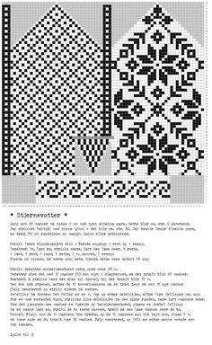 Knitted Mittens Pattern, Fair Isle Knitting Patterns, Knit Mittens, Knitting Charts, Knitting Stitches, Knitting Socks, Cross Stitch Christmas Stockings, Norwegian Knitting, Bead Crochet Rope