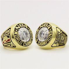 Custom 1975 Golden State Warriors Basketball World Championship Ring