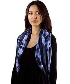 another great way to wear an infinity scarf - as a vest