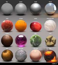 Material Studies by Fierying on DeviantArt Digital Painting Tutorials, Digital Art Tutorial, Art Tutorials, Digital Paintings, Texture Art, Texture Painting, Painting & Drawing, Texture Drawing, Photoshop For Photographers