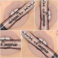 NYX Lip Lingerie Liquid Matte Lipstick :: CORSET