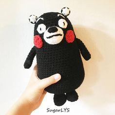 CROCHET PATTERN Kumamon Inspired Bear Amigurumi  SugarLYS
