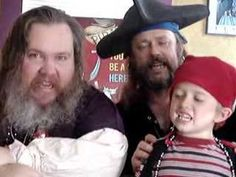 """Talk Like a Pirate Day: """"I'm a Pirate"""" song by Cap'n Slappy and 'Ol Chumbucket (and son) themselves!"""