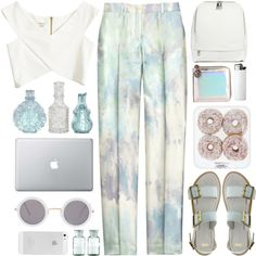 A fashion look from July 2014 featuring River Island tops, Michael Kors pants and ASOS sandals. Browse and shop related looks. River Island Tops, Girls Wear, Asos, Fashion Looks, Michael Kors, Polyvore, How To Wear, Stuff To Buy, Outfits