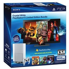 White PlayStation 3 bundle surfaces