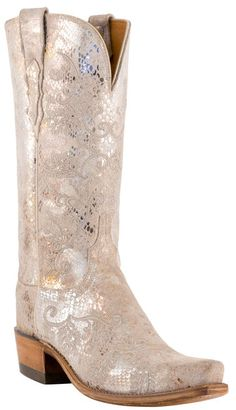 Store Specials 9.5 Lucchese Ladies 1883 with Neomi Stitch Pattern Stone Python Print N4715
