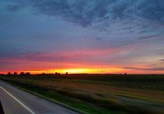 Sunset on the delta. #sunset #delta #arkansas