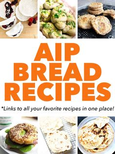 One of the hardest things to cut out of your diet when going gluten free is bread. AIP Bread Recipes are tough to find so I rounded them all up in this epic AIP Diet Bread Recipe post. Paleo Recipes Easy, Bread Recipes, Diet Recipes, Vegetarian Recipes, Sin Gluten, Dieta Aip, Sugar Free Bacon, No Bread Diet, How To Eat Paleo
