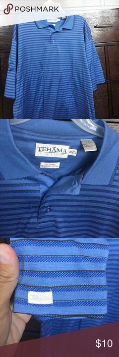 Tehama golf polo Very nice men's polo Shirts Polos