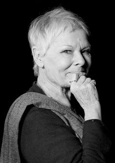 Judi Dench - Great actress with a lot of great sass, love her!