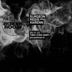 boiler room london (surgeon, regis, karenn)