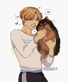 It's too cute Yeontan and Taehyung 😍❤️ Taehyung Yeontan BTS ARMY Loveyourselve fanpage nohate like komment cute Love Taehyung Fanart, Vkook Fanart, Bts Taehyung, Bts Chibi, Namjin, Bts Cute, Fanarts Anime, Bts Drawings, Fan Art