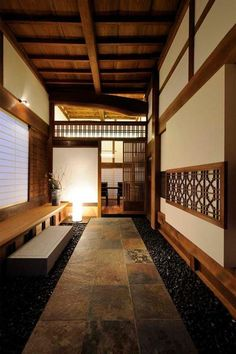 35 Japanese Decor Bring You Peace and Harmony - Page 31 of 35 - VimDecor Modern Japanese Architecture, Japanese Interior Design, Japanese Design, Modern Interior, Interior Architecture, Japan Architecture, Pavilion Architecture, Sustainable Architecture, Residential Architecture