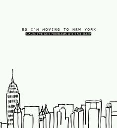 moving to new york