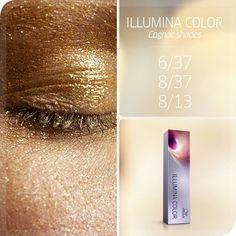 Wella Professionals Illumina Color Cognac shades.