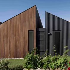 Project Name: Humble House Architect: Coy Yiontis Architects Builder and Trades: J&S Trickey Photographer: Tatjan Plitt Material Information: and selected in Roof Cladding, House Cladding, House Roof, Facade House, House Facades, Residential Architecture, Modern Architecture, Humble House, Shed Homes