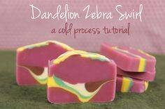 Would love to try this design technique once I have mastered basic soapmaking and am ready to try oxide colorants for something a little more difficult!