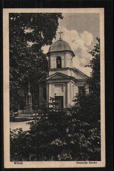 170.153 Wilna, Deutsche Kirche, Feldpost-AK