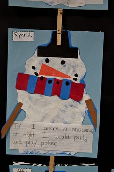 If I were a snowman