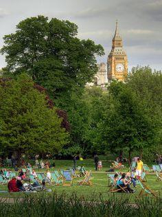 Big Ben - St. James Park, London,