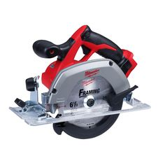 Milwaukee M18 18-Volt Lithium-Ion Cordless 6-1/2 in. Circular Saw (Tool-Only)-2630-20 - The Home Depot Milwaukee Cordless Tools, Milwaukee Tools, Milwaukee M18, Circular Saw Reviews, Best Circular Saw, Rip Cut, Saw Tool, Cordless Circular Saw, Electronic Recycling