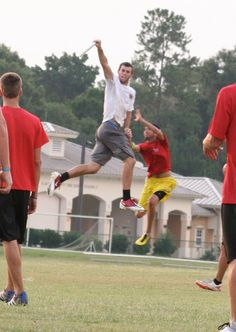 Ultimate Frisbee. I think that Brody Smith. :)