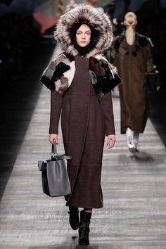 Fendi Fall 2014 Ready-to-Wear Collection Slideshow on Style.com YEA!!'