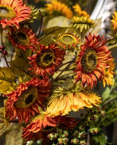 All Whole Artificial Flowers Orange Flowers, Faux Flowers, Viburnum Opulus, Mock Orange, Hydrangea Bouquet, Hill Interiors, White Springs, Gladiolus, Green Rose
