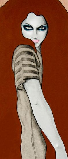 kelly thompson illustrations   Take a look at these awesome fashion illustrations by Kelly Thompson