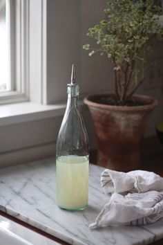 DIY: Homemade Hand Sanitizer (Remodelista: Sourcebook for the Considered Home) - Famous Last Words Rubbing Alcohol, Green Cleaning, Aloe Vera Gel, Real Simple, Plastic Bottles, Hand Sanitizer, Cleaning Hacks, Cleaning Products, Home Remedies