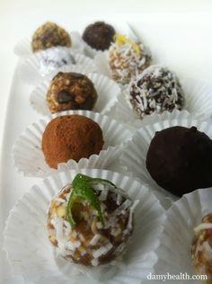 Raw Dessert Balls