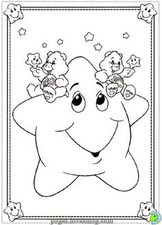 350 Care Bears Coloring Pages Ideas Bear Coloring Pages Coloring Pages Care Bears