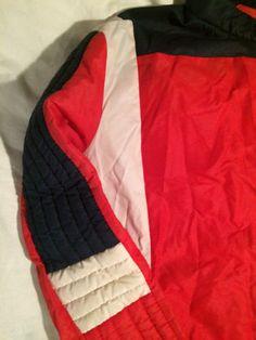 FUSALP-blouson-de-sport-VINTAGE-bleu-blanc-rouge-veste-coupe-vent