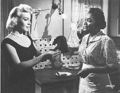 IMITATION OF LIFE (1959)  Lana Turner and Juanita Moore