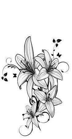 Tattoo Download Free Easter Lily Tattoo Designs 1000 Ideas About Lily Tattoo Design On To Use An Lily Tattoo Design Easter Lily Tattoo Lily Flower Tattoos