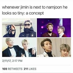 My top two biases ( I love all of BTS obviously)
