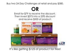 Join for your discount and invite a friend, family member, or coworker to join you in The #AdvoCare 24 Day Challenge! Click www.advocare.com/01042679/BecomeMember.aspx  #24DC #CU24