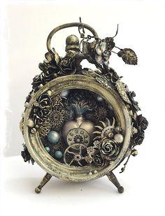 Art Venture Project: Altered Mixed Media Clock