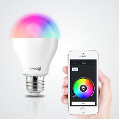 Let your indoor lighting be witness to 16 million color combinations as you remote control the Satechi Revogi Bluetooth 4.0 RGBW Smart LED Bulbs from your smartphone or tablet.