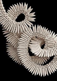 Paper jewelery