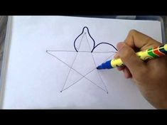 How To Draw Flowers - Draw A Lily Flower Easy Step By Step - YouTube