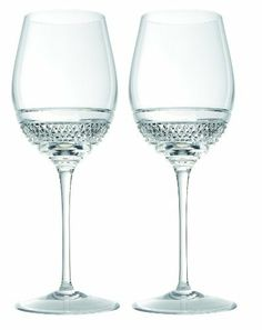 John Rocha at Waterford Voya Red Wine Pair by John Rocha at Waterford Crystal. $175.00. Set of 2 red wine glasses. John Rocha at Waterford voya. Material: crystal. Combine quarter cup ammonia with a mild lemon detergent; Rinse in clean water and air dry on a rack. Evoking simple elegance and clean and contemporary design, the john Rocha collection is iconic and strikes the perfect balance between texture, intricacy, and detail. The voya red wine goblets in clear crystal per...